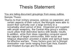 focus how do we meet and exceed the requirements for the dbq 4 thesis statement
