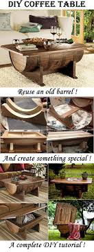 Coffee Table Kits 17 Best Ideas About Wine Barrel Table On Pinterest Whiskey