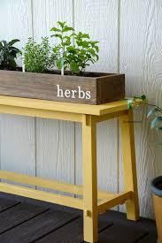 diy herb garden box best 25 herb box ideas on diy herb garden balcony