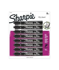 Sharpie Flip Chart Markers 8 Black Markers