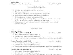 Resume Formatting Stunning Format Of Resume In Word Formatting For Resume Formatting A Resume