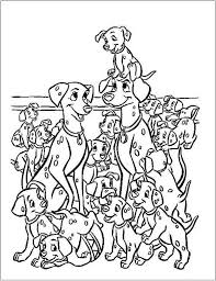 energy 101 dalmatians coloring pages to print 102 page and printables