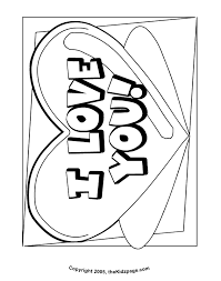Small Picture Pics Of Love And Hearts Coloring Pages Printable Love Heart I
