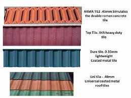 south africa r 40 harvey tiles new quality grit coated metal tiles