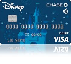 Change Chase Card Design Disney Visa Debit Card From Chase