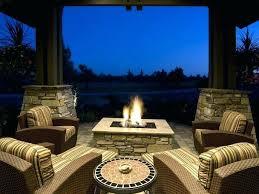 outdoor ethanol fireplace use ideas medium size diy
