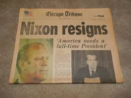 Image result for He was later pardoned by his successor, President Gerald Ford