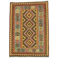 blue brown wool rug flat weave rugs runner stunning with best runners images on home decor reversible flat weave hand woven runner rug