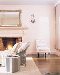 pink wall paintPink Rooms  Martha Stewart