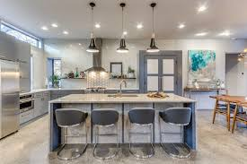 mini pendants over kitchen island