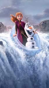 Frozen 2 Anna Olaf 4K Wallpaper #3.1272