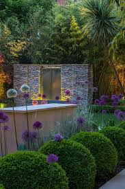 Amazing Modern Garden Design Plants On Simple Decor With