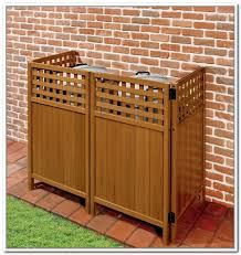 outdoor trash can storage diy designs in idea 3