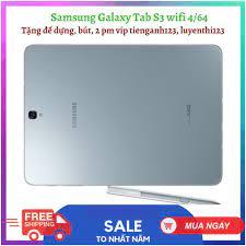 Máy tính bảng Samsung Galaxy Tab S3 ram 4, rom 64 tặng bút, đế dựng tốt giá  rẻ