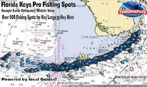 Key Largo Fishing Charts Florida Keys Fishing Spots Gps Coordinates For Key Largo