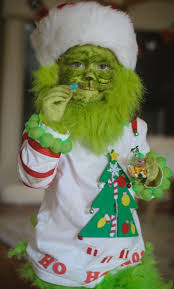 the grinch baby costume.  The Toddler Grinch Costume Baby Grinch Halloween DIY Baby  Baby In The Costume Y