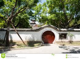 Decorating circular door images : Asia Chinese, Beijing, Taoranting ,Garden Architecture,White Wall ...