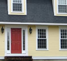 yellow brick house red door. Yellow House Front Door Choosing A For Your Color Red Brick