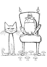 Pete The Cat Coloring Pages Free Page Bestlink