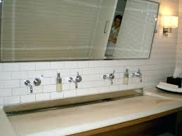 alluring bathroom sink vanity cabinet. Alluring Double Trough Bathroom Sink \u0026 King Modern Vanity Cabinet Bath 2 Faucet Apply To Your Home Improvement I