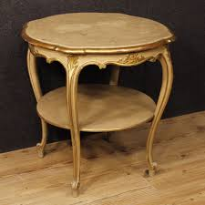 italian wood furniture. Italian Living Room Coffee Table In Lacquered And Gilt Wood 20th Century Furniture