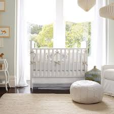 Floor Pillows And Poufs Nursery Pouf Nursery Traditional With Airy Textured Embroidered