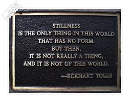 Stillness Quotes Sayings QUOTEZ○CO Fascinating Stillness Quotes