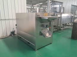 Peanut Peeling Machine Design Stainless Steel Groundnut Roasting Machine Cashew Nut