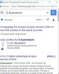 Research Tools 4 New Things About Google Scholar Ui