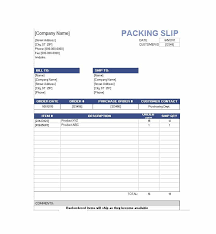 Sample Packing Slip Form 10 Packing Slip Examples Doc Xls Examples