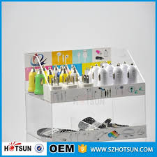 Mobile Phone Accessories Display Stand Cool 32 Layers 32 Compartment Transparent Acrylic Cell Phone Accessories