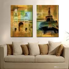 canvas art painting classic building decorative wall pictures oil painting canvas prints and posters for living