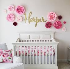 i love this adorable nursery the custom name sign is made by the gilded line on etsy  on personalized name wall art for nursery with large baby name sign wood wall name sign different font selections