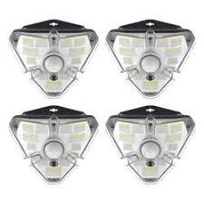 <b>Baseus outdoor LED solar lamp</b> with motion sensor (4 pieces) - 4GSM