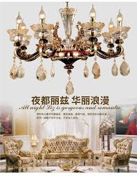 magnificent european style chandeliers 7 crystal chandelier living