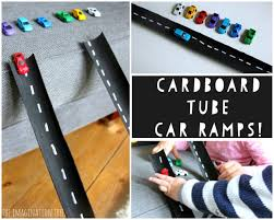 cardboard car ramps