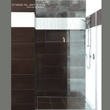 choose linea quattro for clean lines and a single continuous tiled floor level from the bathroom into the shower area