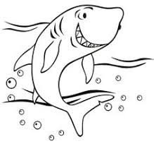 Small Picture Blue Shark free printable coloring page animal mosaics