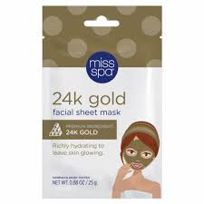 Miss Spa 24K Gold Facial Sheet Mask, 1 ct - Fry's Food Stores