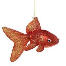 Amazon.com: Kurt Adler Noble Gems Glass Goldfish Ornament, 5-Inch: Home &  Kitchen