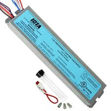 t8 and t12 emergency ballasts linear fluorescent 1000bulbs com iota i 32 reduced profile emergency backup ballast 90 min operates