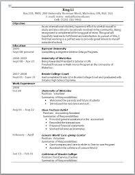 Australian Resume Template Australia Resume Format Free Resume