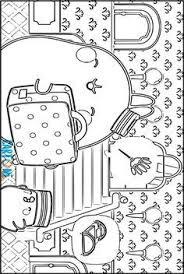 Cartoni Animati Disegni Da Colorare Di Simone Coniglio
