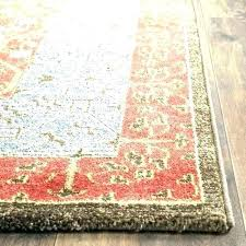 red white and blue area rugs rug home yellow a