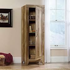 Sauder Kitchen Furniture Sauder Adept Cobblestone Storage Cabinet 418085 The Home Depot