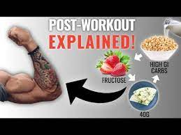best foods to eat after a workout to