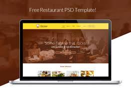 Free Website Design Templates Enchanting ⬇ Free Download Restaurant Web Design Template Free Downloads
