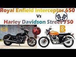 harley davidson street 750 vs royal