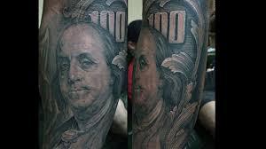 тату деньги 50 татуировок с купюрами и монетами