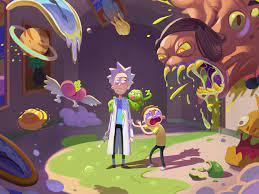 Wallpaper 4k Rick And Morty Season 4 ...